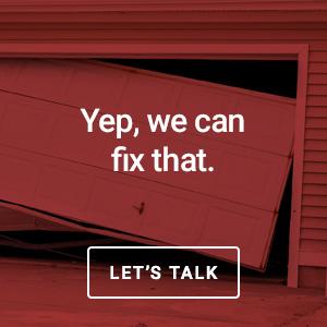 we can fix urgent garage door problems