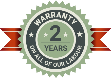 2 Years Labour Warranty