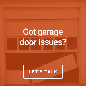 talk to us about your garage door issues